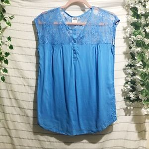 VERA MODA Lace T-shirt Blouse